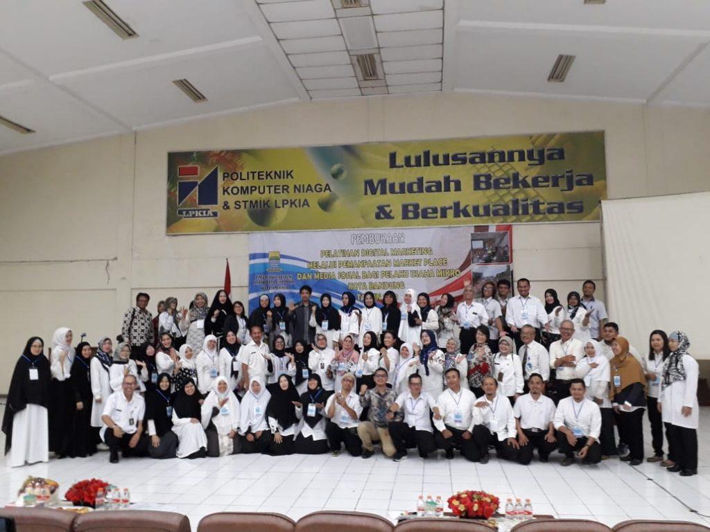 Peserta Pelatihan Digital Marketing UMKM Kota Bandung