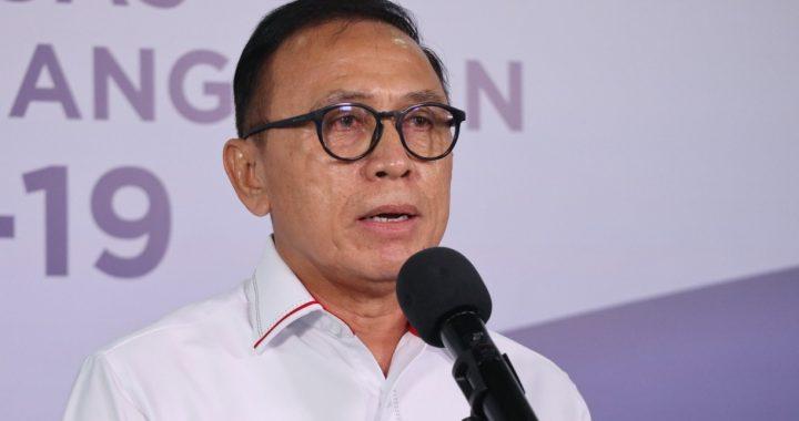 Foto : Ketua Umum PSSI Mochamad Iriawan (KOMBEN BNPB/M Arfari Dwiatmodjo)