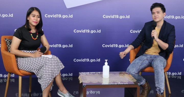 Foto : dr. Anita Suryani, dokter spesialis olahraga saat diskusi Gugus Tugas Nasional di Graha BNPB, Jakarta. (KOMBEN BNPB / Lia Agustina)