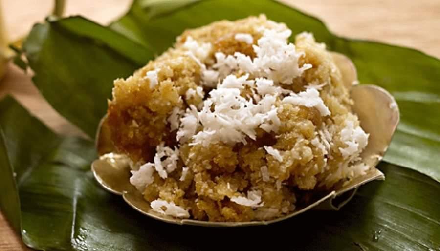 Nasi Oyek. produk kuliner tradisional asal tanah Jawa yang berbahan dasar singkong. Foto: Istimewa