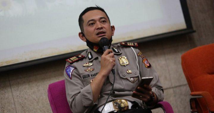 Wakil  Kepala Satuan Lalu Lintas Polrestabes Bandung, AKP Galih Raditya.*Agung FB/Humas.Bandung.go.id