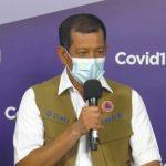 Foto : Ketua Satuan Tugas Penanganan COVID-19 Doni Monardo dalam acara Rilis Hasil Survei Perilaku Masyarakat di Masa Pandemi COVID-19 di Media Center, Graha BNPB, Jakarta (28/9). (Youtube BNPB Indonesia)