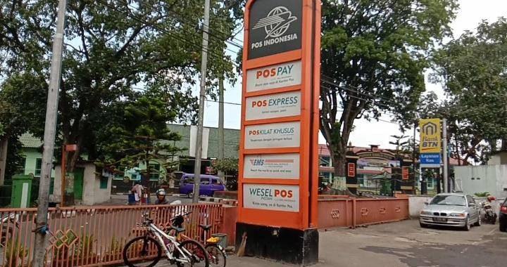 Kantor Pos, Jl Gatot Subtoto Kota Cimahi. Foto :rwd
