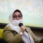 Kepala Bidang Perlindungan dan Pemenuhan Hak Lansia pada Dinas Pemberdayaan Perempuan, Perlindungan Anak dan Pemberdayaan Masyarakat (DP3APM) Kota Bandung, Sekar Pujawidayanti. Foto : Agvi Humas Bandung