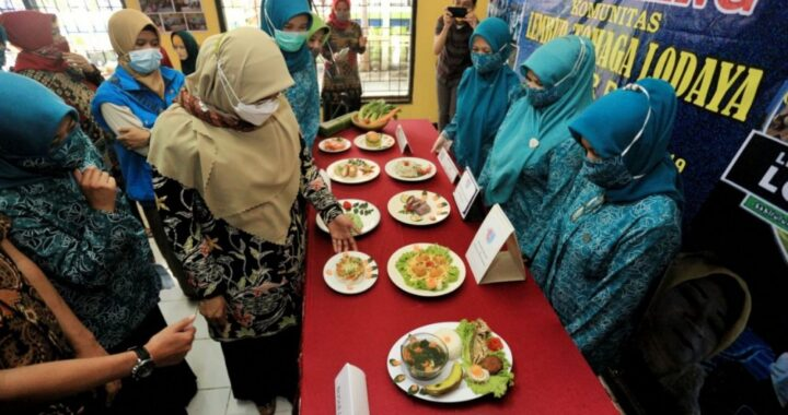Salah satu kegiatan Bandung Tanginas (Tanggap Stunting dengan Pangan Aman dan Sehat) yang merupakan upaya menunrunkan angka stunting di Kota Bandung